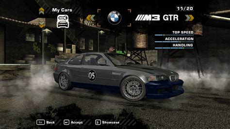 Need For Speed Most Wanted BMW M3 GTR Street: Fully