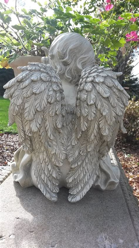 Cherub Butterfly Garden Statue ON SALE at Wing and a Prayer!