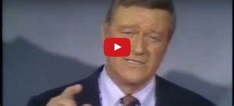 A 45-yr-old JOHN WAYNE VIDEO Is Going VIRAL … HOLLYWOOD is