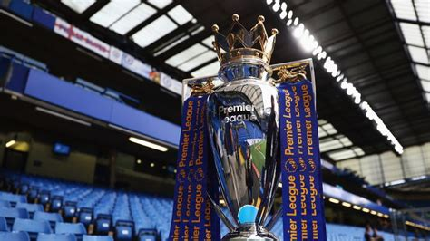 When is the Premier League trophy presentation and who