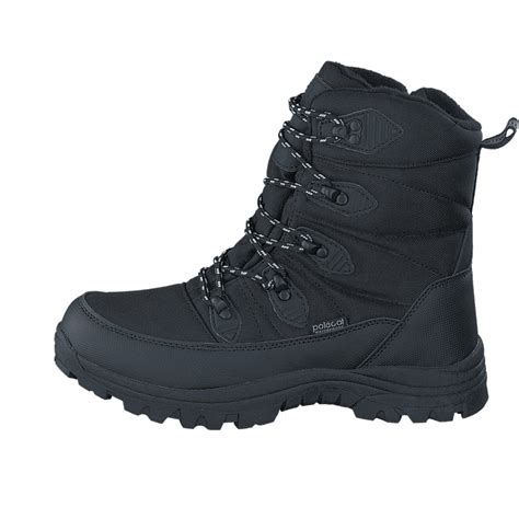 Køb Polecat 430-9924 Waterproof Warm Lined Black Sko