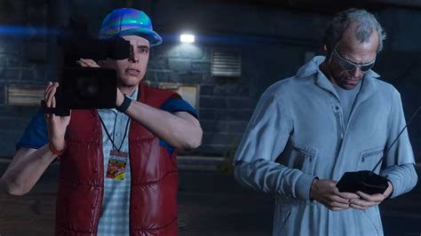 GTA 5: Back to the Future tribute shows off power of mods