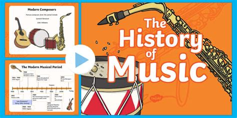 The History of Music: The Modern Period of Music and