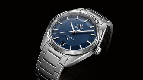 OMEGA Globemaster in steel TV campaign - YouTube