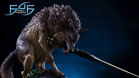 New Dark Souls Great Grey Wolf, Sif, Statue For Pre-Order