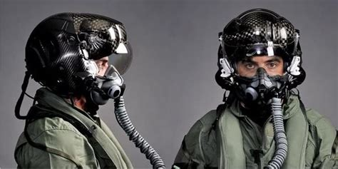 Do fighter jet pilots get assigned their own helmets, and
