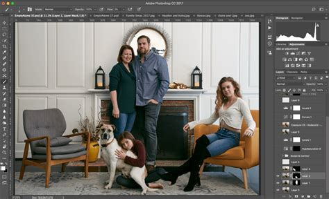 Compositing a group photo technique for better results