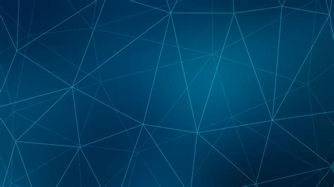 Wallpaper Polygons, Network, Blue, HD, Abstract, #11843