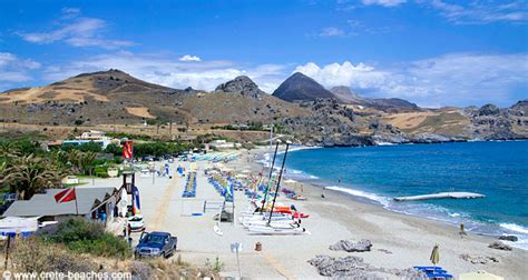 Damnoni Beach - natural beach | Crete Beaches