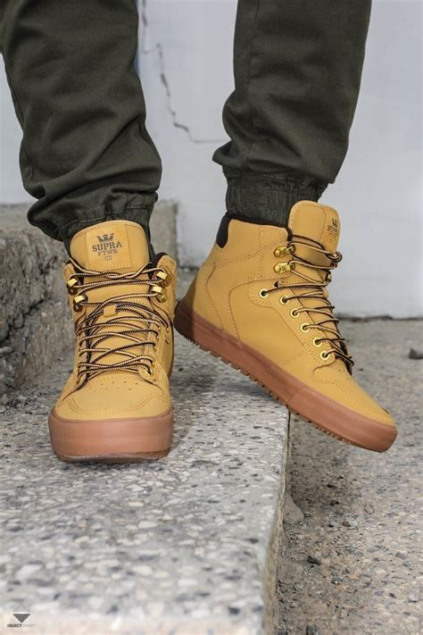 Supra Vaider Cold Weather Winter Boots Amber Gold Light