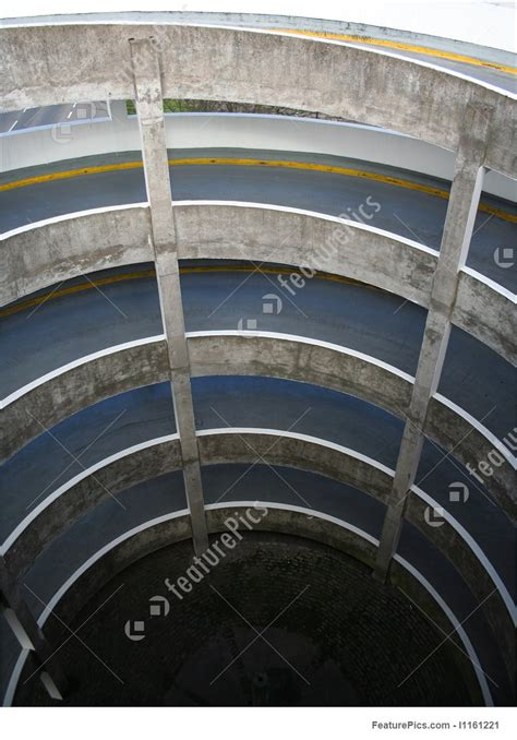 Photo Of Spiral Ramp Of Car Park