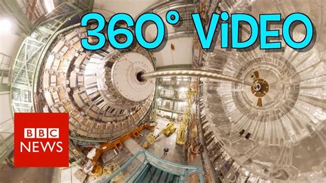 Step inside the Large Hadron Collider (360 video) - BBC
