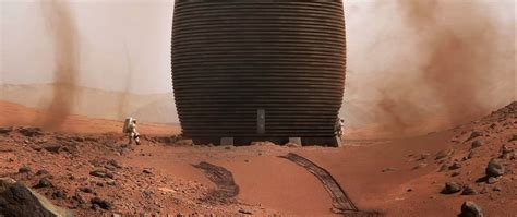 3D-printed Mars habitat could be a perfect fit for early