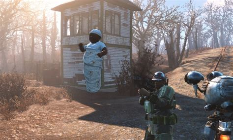 Fallout 4 mod replaces mini nukes with your baby - VG247