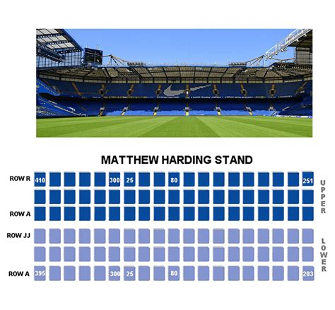 Seating Plan | Official Site | Chelsea Football Club