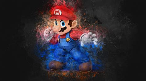 Wallpaper Super Mario, Artwork, 4K, Creative Graphics