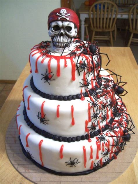 20 Incredible Halloween Cakes That Are Deliciously Spooky!