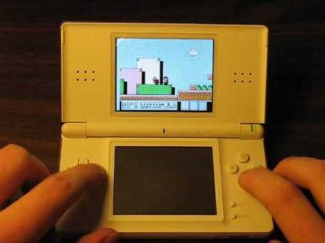 Playing NES Games on the Nintendo DS with nesDS - YouTube