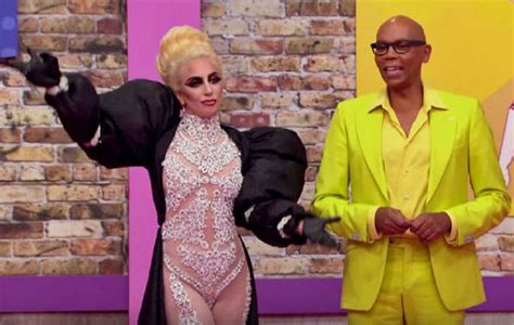 Watch Lady Gaga fool contestants with drag queen disguise