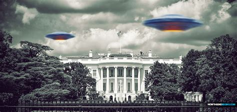 Unidentified Flying Object Over The White House Triggers