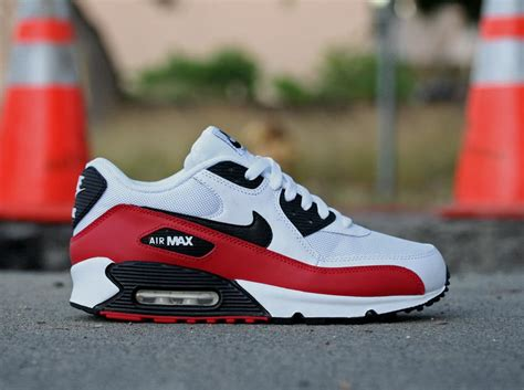 Nike Air Max 90 - Sport Red/Black-White   Sole Collector
