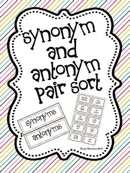Fabulous Free Finds - Synonym Edition - Elementary AMC