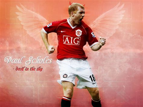 Paul Scholes | Manchester United Wallpaper