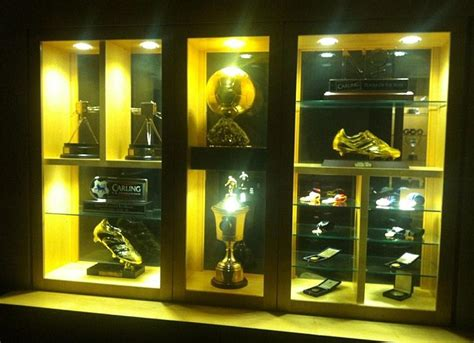Michael Owen posts trophy cabinet picture on Twitter after