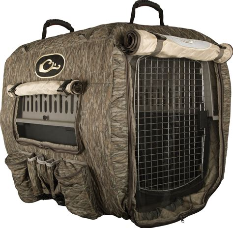 Deluxe Adjustable Kennel Cover – Drake Waterfowl