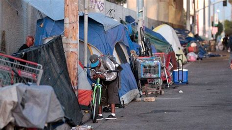 Report says county has nation's fourth-largest homeless