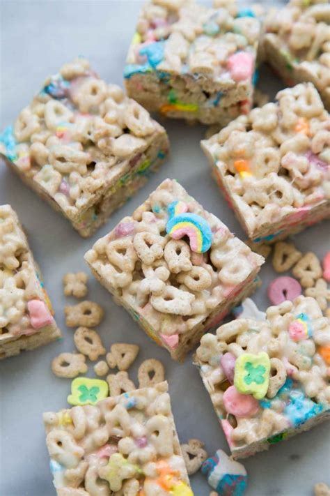 Lucky Charms Marshmallow Treats- The Little Epicurean