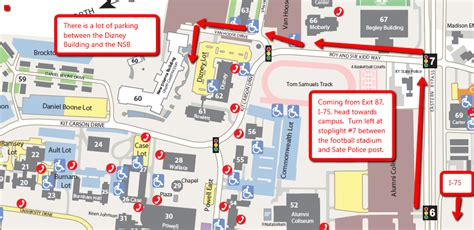 Directions To EKU New Science Building | Center For