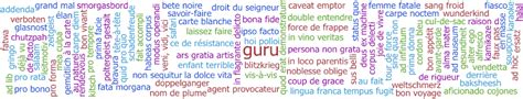 129 Common Foreign Words List That Makes English Exciting!