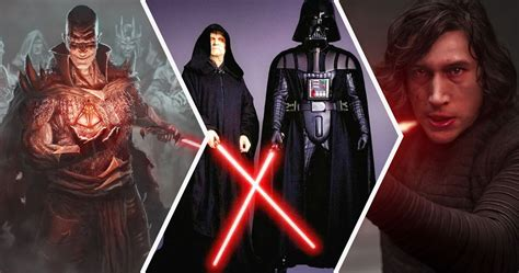 Star Wars: 20 Things About the Sith That Make No Sense